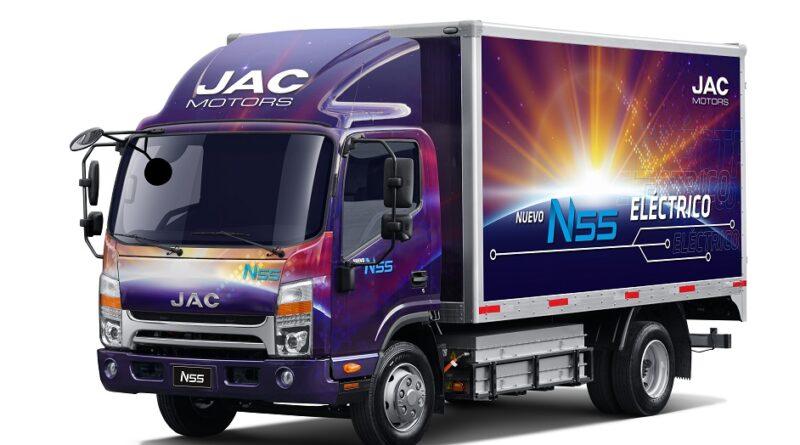[+Video] JAC Motors lanza primer camión eléctrico en Chile