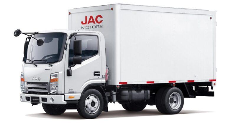 JAC Motors es líder en ventas de camiones livianos