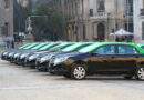 Entregan los primeros taxis 100% eléctricos que circularán por la capital