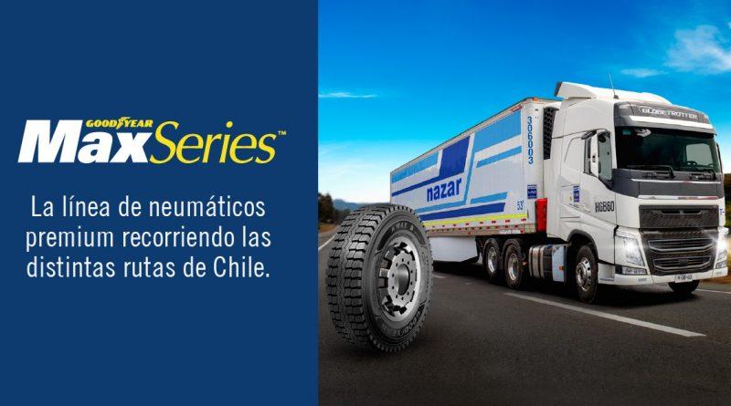 Transportes Nazar confía en los neumáticos Goodyear KMAX D